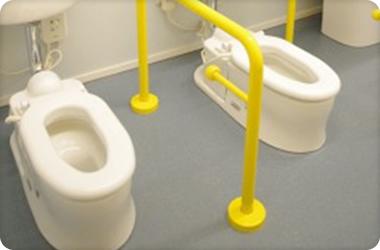 小さなトイレとてもかわいい